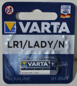 Батарейка VARTA LR-1 (N) блистер 1х1шт /1/10шт.