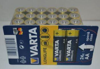 Батарейки VARTA Longlife LR-6 box 24шт