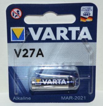 Батарейка VARTA 27A блистер 1х1шт /1/10шт.