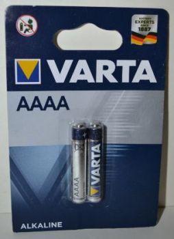 Батарейки VARTA 4061 (AAAA) блистер 1х2шт
