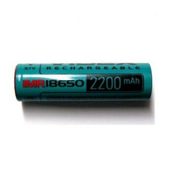 Акк Videx 18650 2200mAh (22А) 3,7V IMR коробка 1х1шт