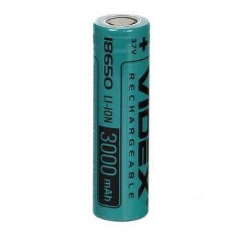Акк Videx 18650 3000mAh 3,7V Li-ion коробка 1х1шт
