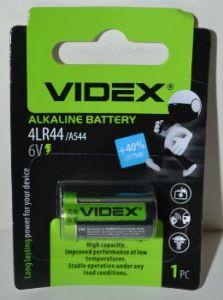 Батарейка Videx 4LR44 (476A) блистер 1х1шт /1/12шт.