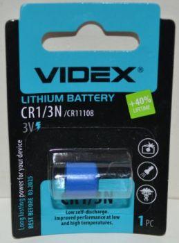 Батарейка Videx CR-1/3N 3V Lithium 1х1шт