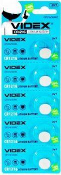 Батарейка Videx CR-1216 Lithium 1х5шт /1/5/