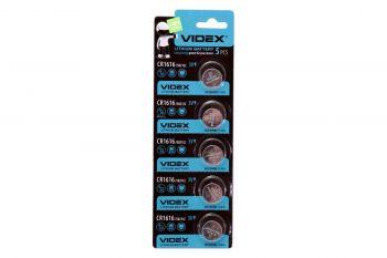 Батарейка Videx CR-1616 Lithium 1х5шт /1/5/