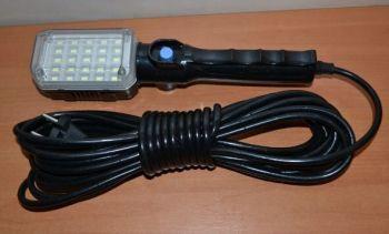 Фонарик рабочий свет WD-041B Black 10м 124*75мм