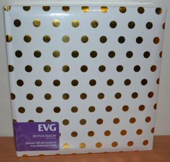 Фотоальбом на 200 фото 10х15 с местом для записей EVG W&B