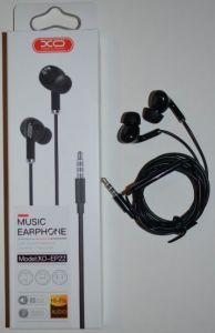 Вакуумные наушники с микрофоном XO EP-22 black