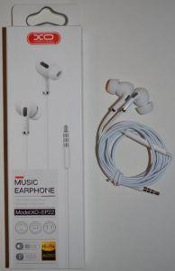 Вакуумные наушники с микрофоном XO EP-22 white