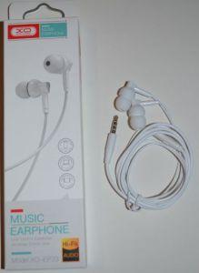 Вакуумные наушники с микрофоном XO EP-33 white