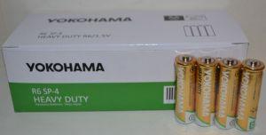 Батарейки YOKOHAMA Heavy Duty R-6 коробка 1х4шт /4/60шт.