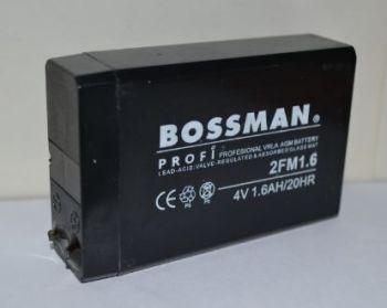 Акк Bossman 2FM1,6 1600mAh 4V (23х50х75) коробка 1х1шт /1/