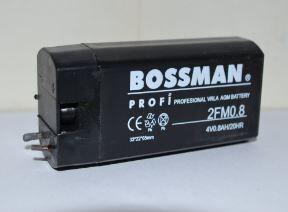 Аккумулятор Bossman LA 408 2FM0,8 (4V/0,8Ah) (30х21х63) коробка 1х1шт