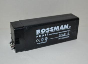 Акк Bossman LA 412 2FM1,2 (4V/1,2Ah) (35х22х90)