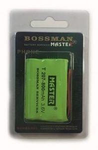 Акк Bossman T207 (3*AAA) 800mAh 3,6V Ni-Mh + контакты UP