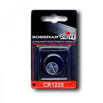 Бат Bossman СR-1225 Lithium 1х1шт /1/