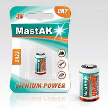 Бат Mastak CR-2 Lithium 1x1шт /1/