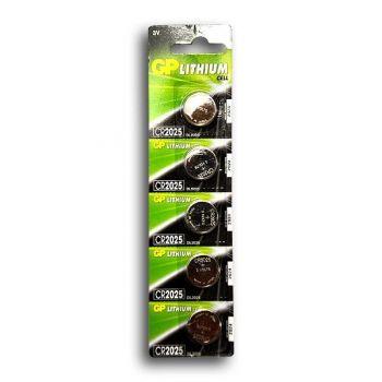 Батарейка GP CR-2025 Lithium 1х5шт /5/100/
