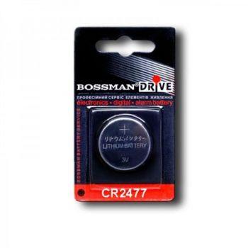 Бат Bossman СR-2477 Lithium 1х1шт /1/