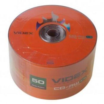 Медиа CD-RW Videx 700Mb 12х Bulk 50 /1/50/