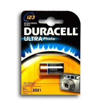 Бат Duracell Ultra CR-123A Lithium 1x1шт /1/