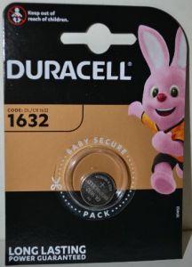 Батарейка Duracell DL1632 DSN Lithium 1x1шт