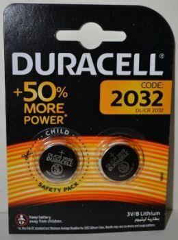 Батарейка Duracell DL2032 DSN Lithium 1x2шт /2/20/
