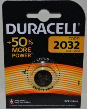 Батарейка Duracell DL2032 DSN Lithium 1x1шт /1/10/