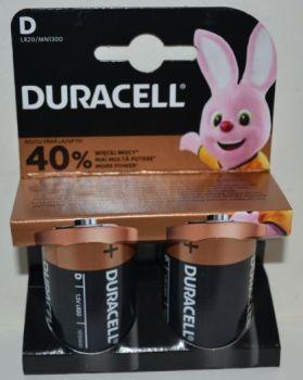 Батарейка Duracell LR-20 MN1300 блистер 1х2шт /2/20/