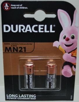 Батарейка Duracell МN-21(23А) блистер 1х2шт /2/20шт.