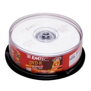Медиа DVD-R EMTEC 4.7Gb 16x Cake 25