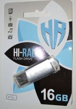 USB флешка 16Gb Hi-Rali Rocket Silver
