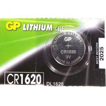 Батарейка GP CR-1620 Lithium 1х5шт /1/5/