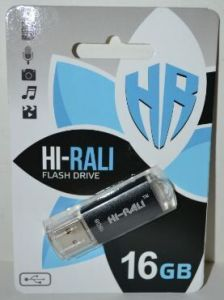 USB флешка 16Gb Hi-Rali Rocket Black