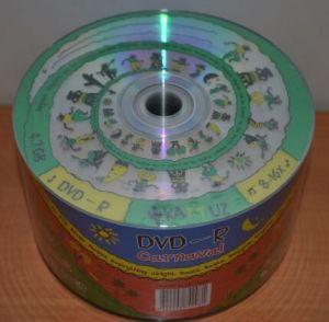 Медиа DVD-R KAKTUZ 4.7GB 16x Bulk 50 /1/50/600/