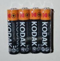 Батарейки KODAK Extralife LR-03 коробка 1х4шт /4/60/