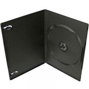 Бокс 1 DVD black (14mm) глянцевый