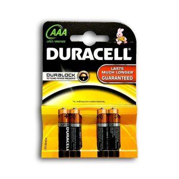 Батарейки Duracell LR-03 MN2400 блистер 1х4шт /4/40/120/