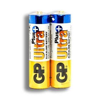 Батарейки GP Ultra Alkaline Plus LR-6 коробка 1х2шт /2/40/