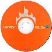 Медиа CD-RW Videx 700Mb 12х Bulk 10 /1/10/