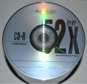 Медиа CD-R MAXIMUS 700Mb 52x Bulk 50 /1/50/600шт.