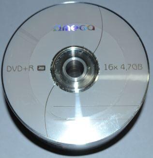 Медиа DVD+R Omega 16x Bulk 50 /1/50/600/