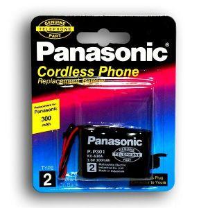 Акк PANASONIC P-P301 (3*2/3AA) 300mAh 3,6V Ni-Сd + контакты UP