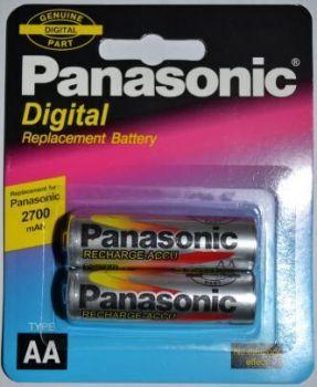 Акк PANASONIC НR-6 2700mAh Ni-MH блистер 1х2шт /2/20/