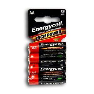 Бат Energycell R-6 блистер 1х4шт /4/60/1200/