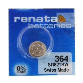 Час Renata 364 (SR-621SW, SR-60) AG1 блистер 1х10шт /1/10/100/