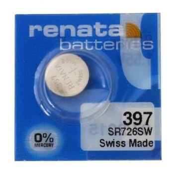 Час Renata 397 (SR-726SW, SR-59) AG2 блистер 1х10шт /1/10/