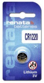 Батарейка Renata СR-1220 Lithium 1х1шт /1/10/