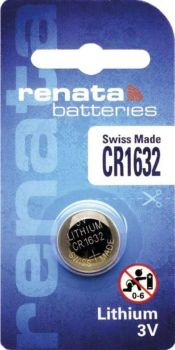 Батарейка Renata СR-1632 Lithium 1х1шт /1/10/